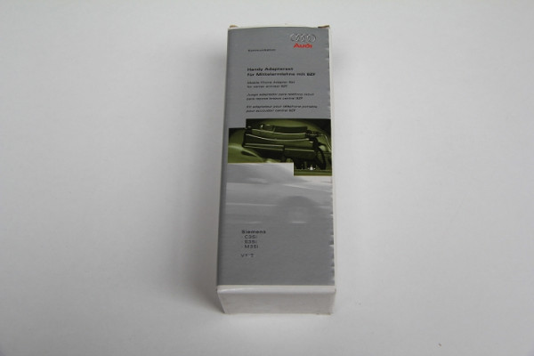 Original Audi Handy Adapter Handyadapter Siemens C35i S35i M35i Adapterset NEU