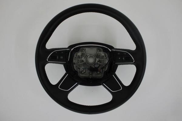 Org Audi A6 A7 4G Lenkrad Leder 4G0419091M Multifunktion schwarz steering wheel